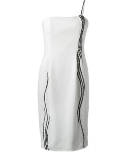 Jean Louis Scherrer Vintage | Waterfall Beaded Dress
