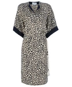 Gianfranco Ferre Vintage | Leaf Print Dress