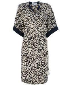 Gianfranco Ferre Vintage | Leaf Print Dress