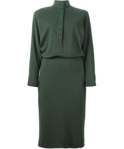 Jean Louis Scherrer Vintage | Front Button Shirt Dress