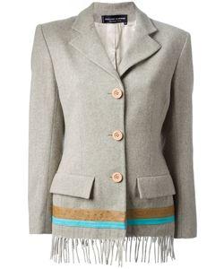 Jean Louis Scherrer Vintage | Fringed Jacket