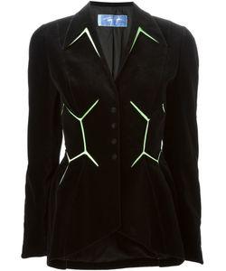 Thierry Mugler Vintage | Velvet Silk Insert Jacket Women Small