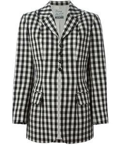 Moschino Vintage | Checked Blazer Jacket