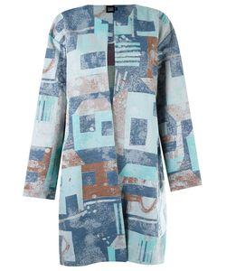 Fernanda Yamamoto | Abstract Print Oversized Coat