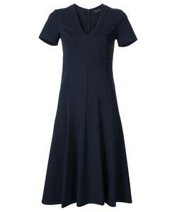 Derek Lam   Flared V-Neck Dress 36