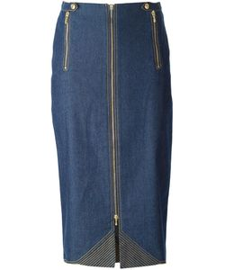 Christian Dior Vintage | Midi Denim Skirt