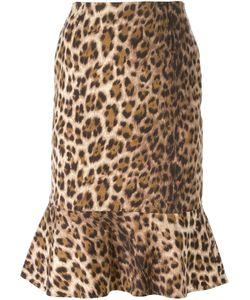 Moschino Vintage | Leopard Print Skirt