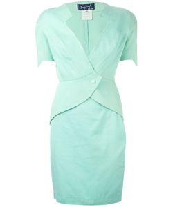 Thierry Mugler Vintage | Diamond Neckline Skirt Suit