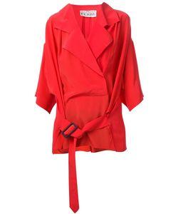 Gianfranco Ferre Vintage | 80s Wrap Shirt