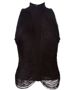 Thierry Mugler Vintage | Fringed Top