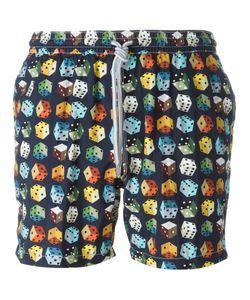 Capricode   Dice Print Swim Shorts