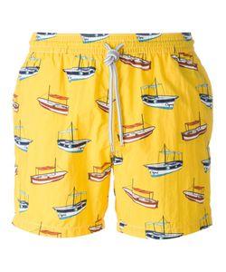 Capricode | Boat Print Swim Shorts