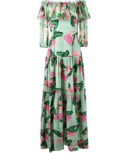 Isolda | Off-Shoulder Flared Long Dress