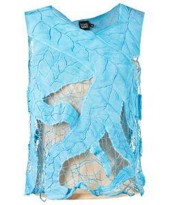 Fernanda Yamamoto   Sleeveless Lace Blouse