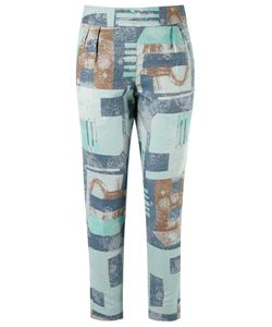 Fernanda Yamamoto   Abstract Print Cropped Trousers
