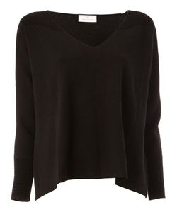 Maison Ullens | Ribbed Shoulders Knitted Blouse