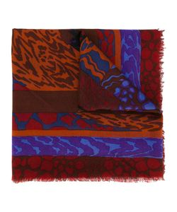 Jean Louis Scherrer Vintage | Abstract Print Scarf