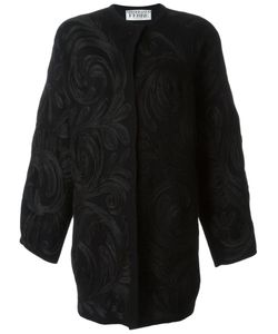 Gianfranco Ferre Vintage | Swirl Appliqué Coat