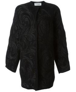 Gianfranco Ferre Vintage | Swirl Appliqué Coat