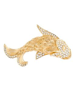 Christian Dior Vintage | Crystal Fish Brooch