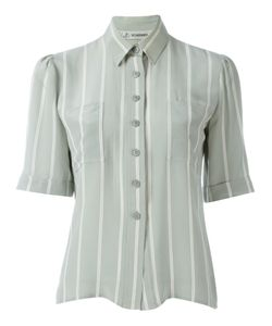 Jean Louis Scherrer Vintage | Striped Shortsleeved Shirt