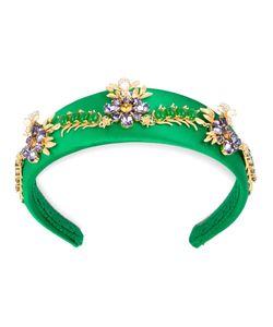 Dolce & Gabbana | Flower Embellished Headband