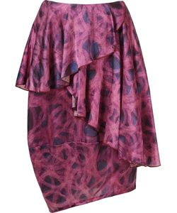 Fernanda Yamamoto   Asymmetric Printed Skirt