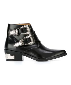 Toga Pulla | Buckled Ankle Boots 41
