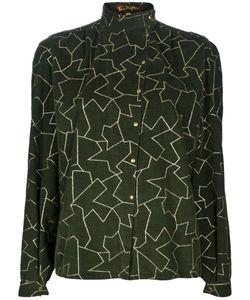 Thierry Mugler Vintage | Pattern Blouse