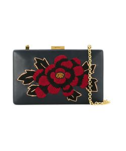 Serpui   Embroidered Clutch Bag