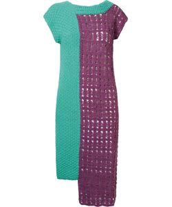 Fernanda Yamamoto   Asymmetric Knit Dress