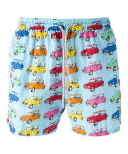 Capricode   Car Print Swim Shorts