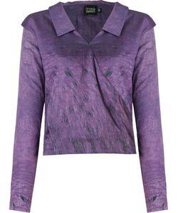 Fernanda Yamamoto   V-Neck Draped Shirt