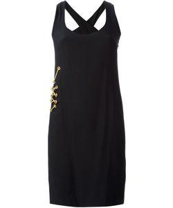 Gianfranco Ferre Vintage | Lace-Up Hardware Detail Dress