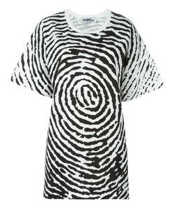 Jeremy Scott | Oversized Fingerprint T-Shirt