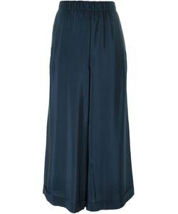 Daniela Gregis | Turn-Up Cropped Trousers