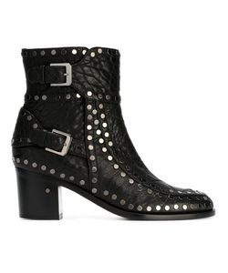 Laurence Dacade | Studded Ankle Boots 36.5 Lamb Skin/Leather/Metal