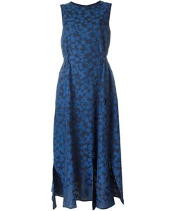 Julien David | Calico Print Flared Dress Medium