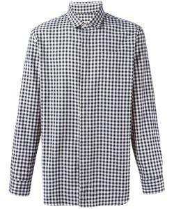 Camo   Gingham Print Shirt