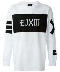 Ejxiii   Logo Printed Sweatshirt