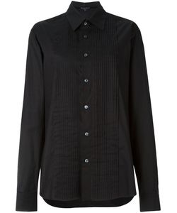 Ann Demeulemeester Blanche   Pleated Bib Oversized Shirt