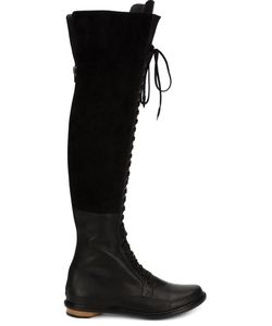 Valas | Thigh High Lace-Up Boots