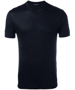 Neil Barrett | V-Neck T-Shirt Large Viscose