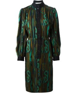 Jean Louis Scherrer Vintage | High Neck Printed Dress