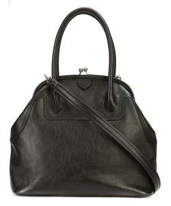 Y's   Clasp Panelled Handbag