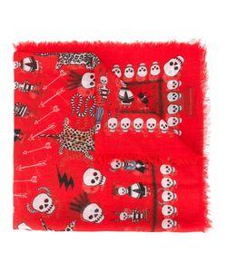 Alexander McQueen | Leopard And Skull Print Scarf