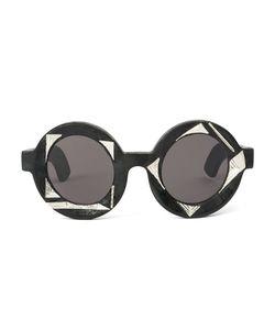 Kuboraum | Round Frame Sunglasses