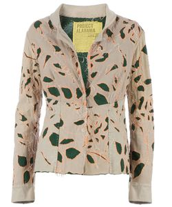 Projet Alabama | Leaf Patterned Jacket Medium