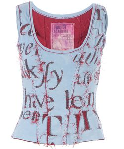 Projet Alabama | Worded Tank Top