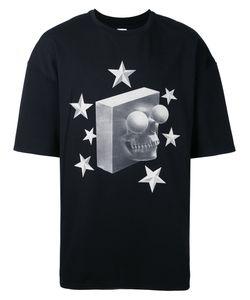 Cy Choi   Skull Print T-Shirt